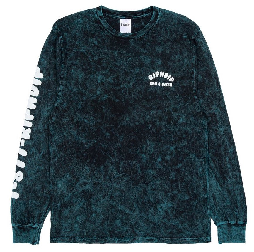 Ripndip - Spa Days LS T-shirt - vintage green