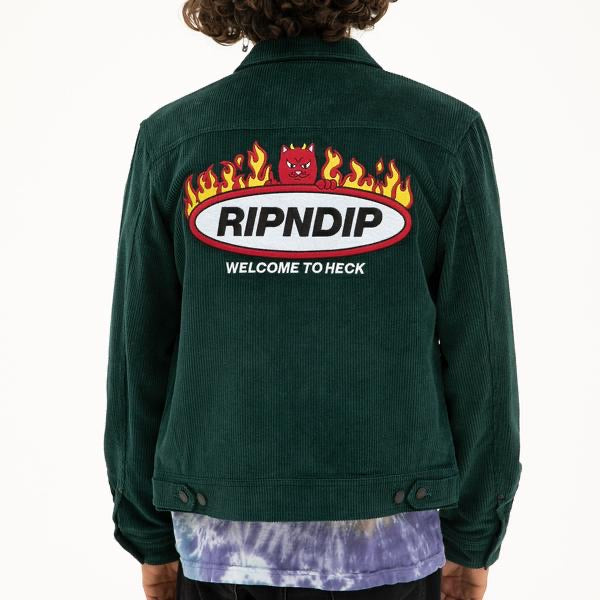 Ripndip - Welcome to Heck Corduroy Jacket - model shot