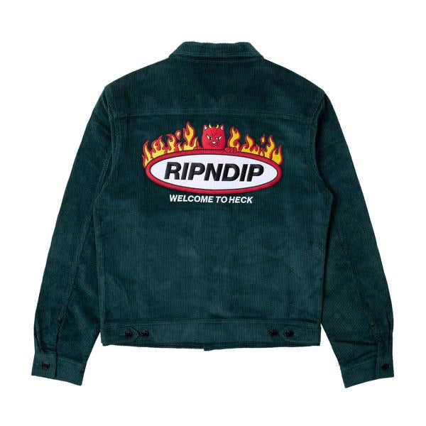 Ripndip - Welcome to Heck Corduroy Jacket - back