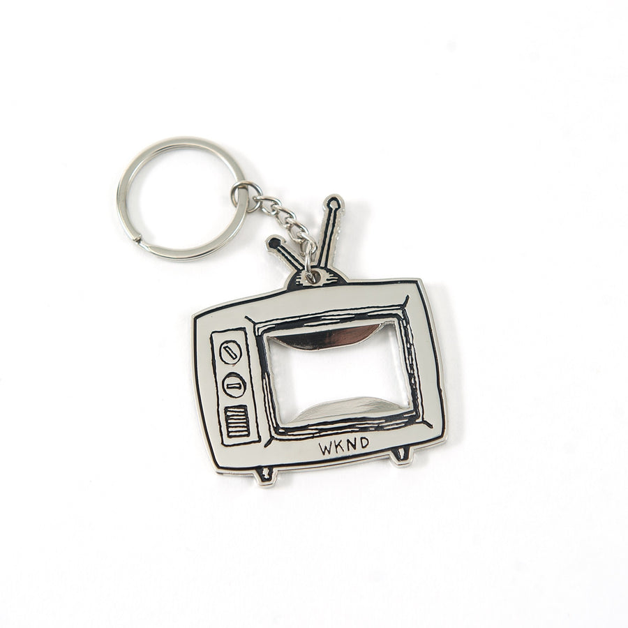 WKND - TV-Logo Key Chain - Silver
