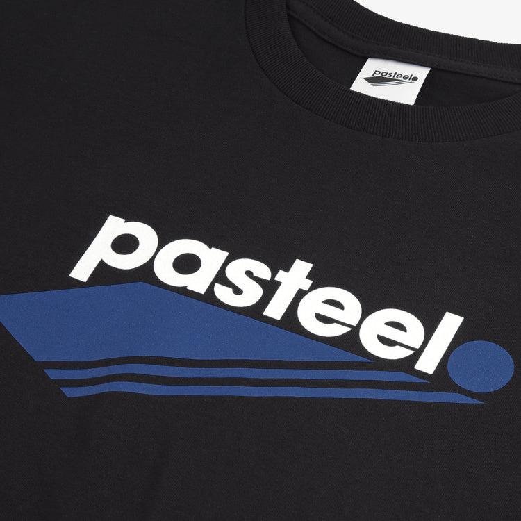 Pasteelo - O.G logo T-shirt - black/blue