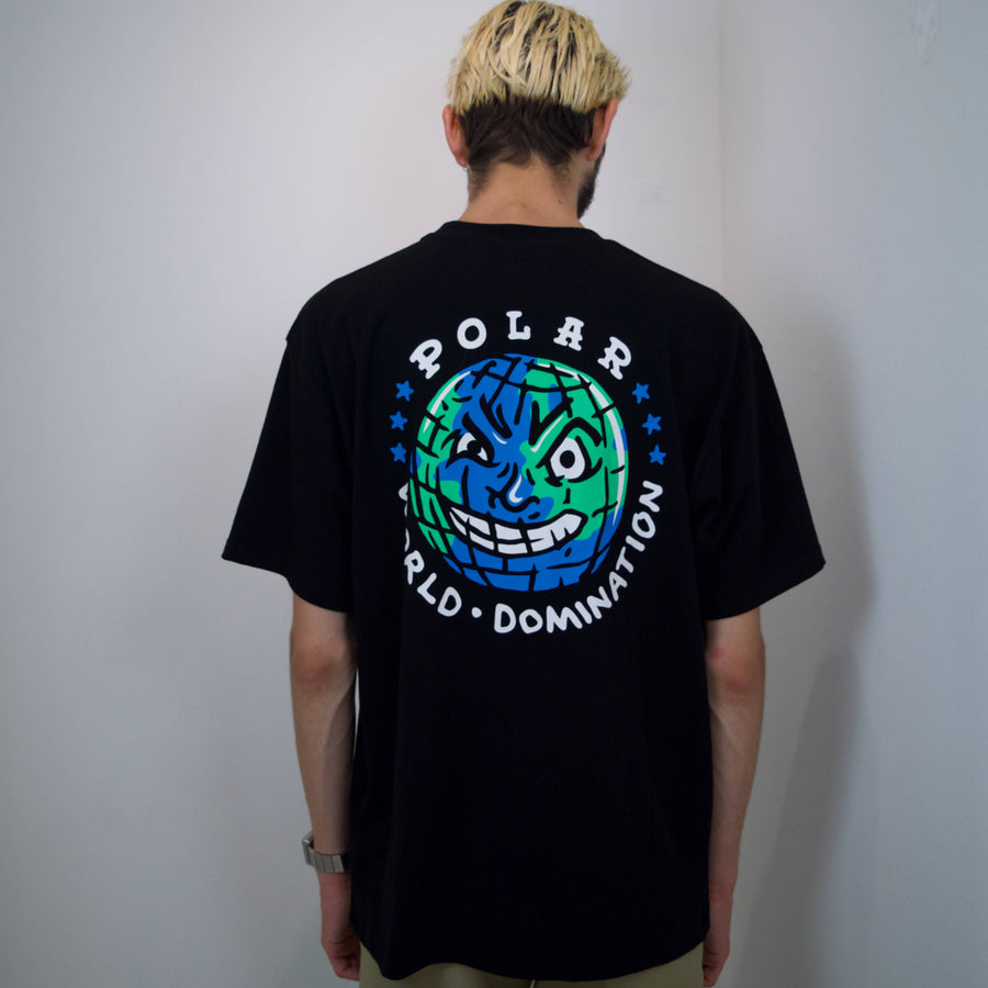 Polar Skate Co. - P.W.D T-shirt i Sort
