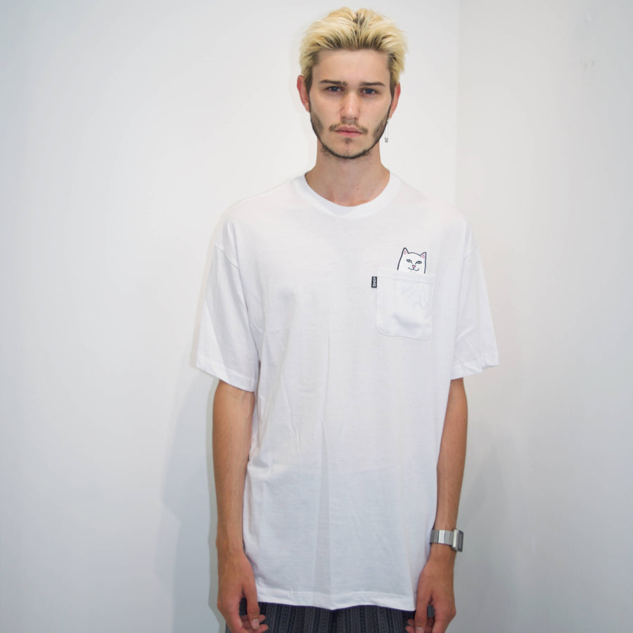 Ripndip Lord Normal Pocket t-shirt I hvid