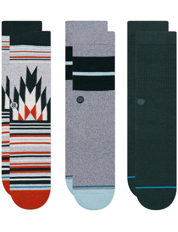 Stance - The Classics Pack - 3 pak sokker