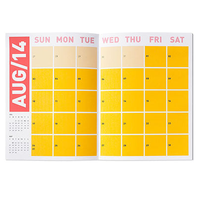 Picture of MoMA 17 Month Calendar - 2014