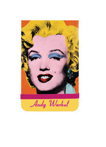 Andy Warhol Marilyn Monroe Mini Notepad