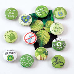 Be Green Magnet Set
