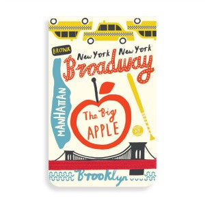 The Big Apple New York Mini Notepad