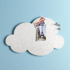 Cloud Cork Bulletin Board