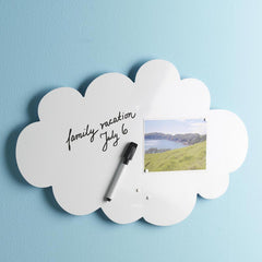 Cloud Magnetic Memo Board
