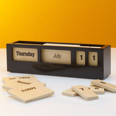 Picture of Tile Wooden Calendar