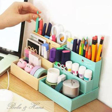 Cute DIY Desk Organizer