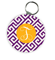 LSU Personalized Keychains