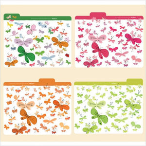 Happy Butterflies Andy Warhol Folders