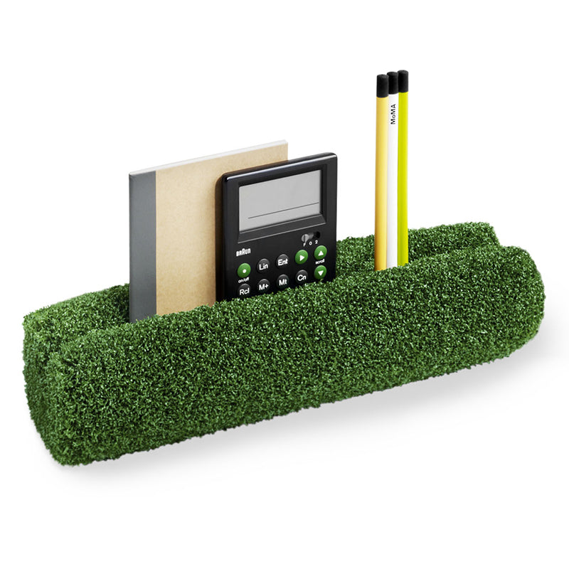 Grassy Hedge Desk Organizer