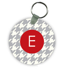 University of Alabama Houndstooth Keychain