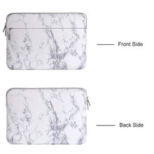 Load image into Gallery viewer, Canvas Laptop Sleeve Marble