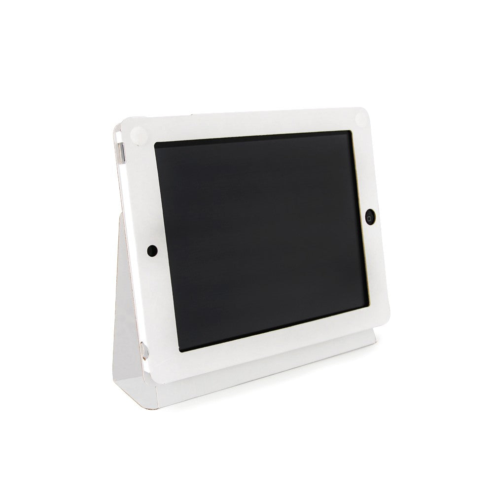 White Kraft iPad Case