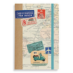 World Maps Accordion Organizer