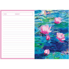 Monet Water Lilies Notebook