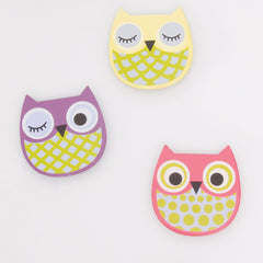 Night Owl Magnet Set