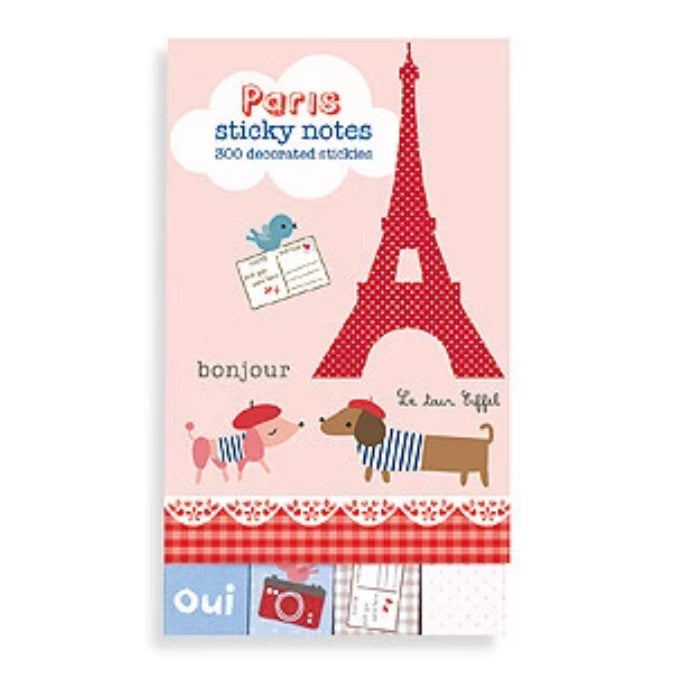Paris Sticky Notes