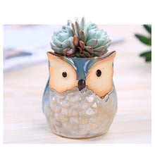Load image into Gallery viewer, Mini Owl Plant Pot
