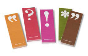 Picture of Punctuation Marks Sticky Notes