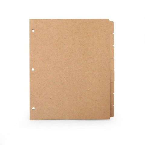 Picture of Recycled 8 Tab Dividers