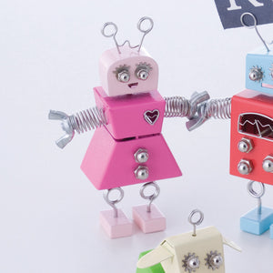 Robot Girl Memo Holder