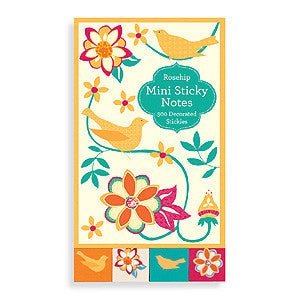 Picture of Pretty Bird Mini Sticky Notes