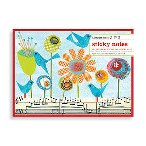 Picture of Songbirds Sticky Notes