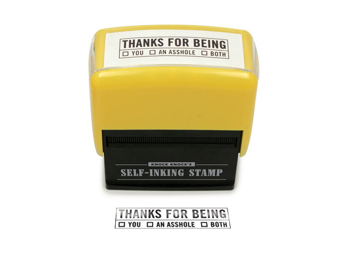 Thanks For Being.... Stamp