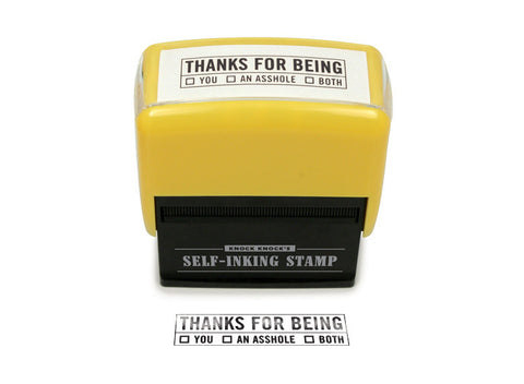 Picture of Thanks For Being.... Stamp