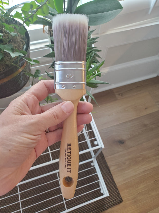 "1 1/2"" Oval Elite Synthetic Paint Brush"