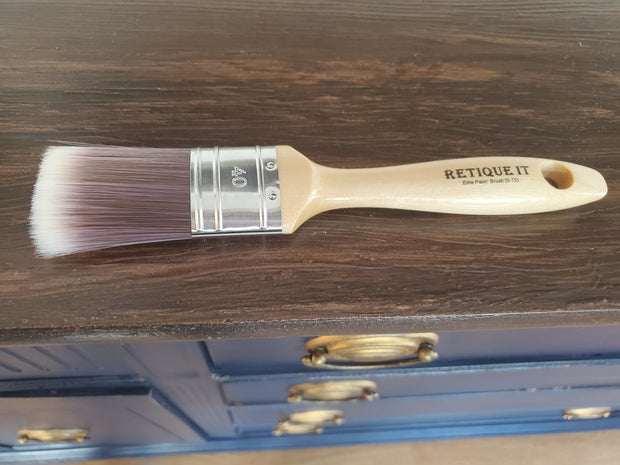 "1 1/2"" Oval Elite Synthetic Paint Brush - Crystaline Your Life"