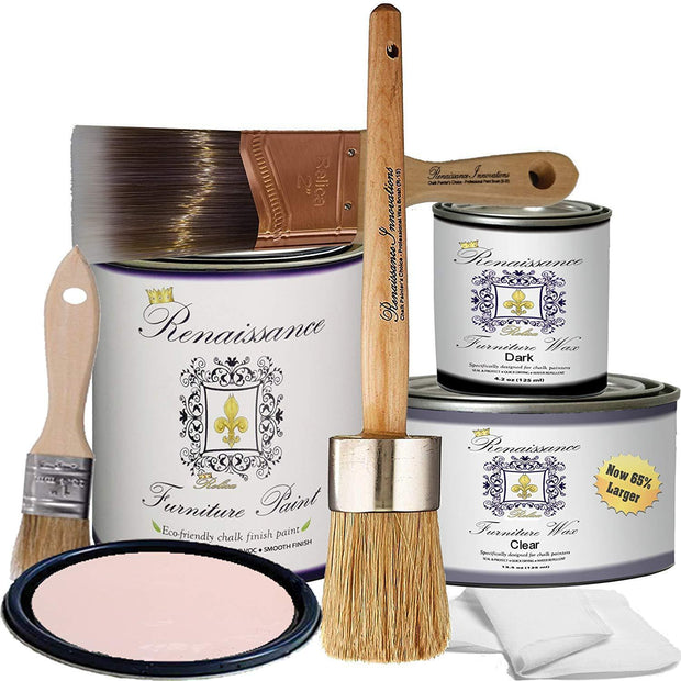 Retique It by Renaissance Chalk Finish Paint - Reds & Oranges - Crystaline Your Life