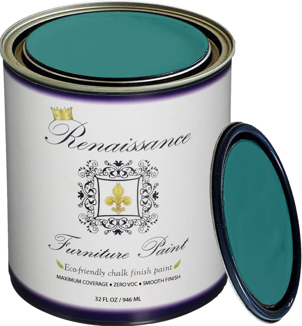 Renaissance Furniture Paint - Camelot Blue - Crystaline Your Life
