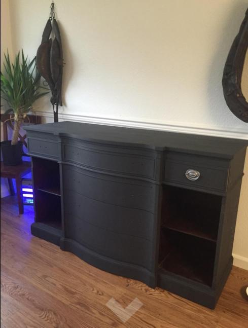 Renaissance Furniture Paint - Chalk Finish Paint - Midnight Black