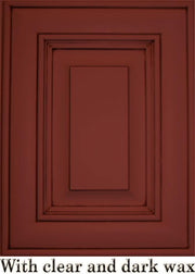 Renaissance Furniture Paint - Chalk Finish Paint - Venetian Red - Crystaline Your Life