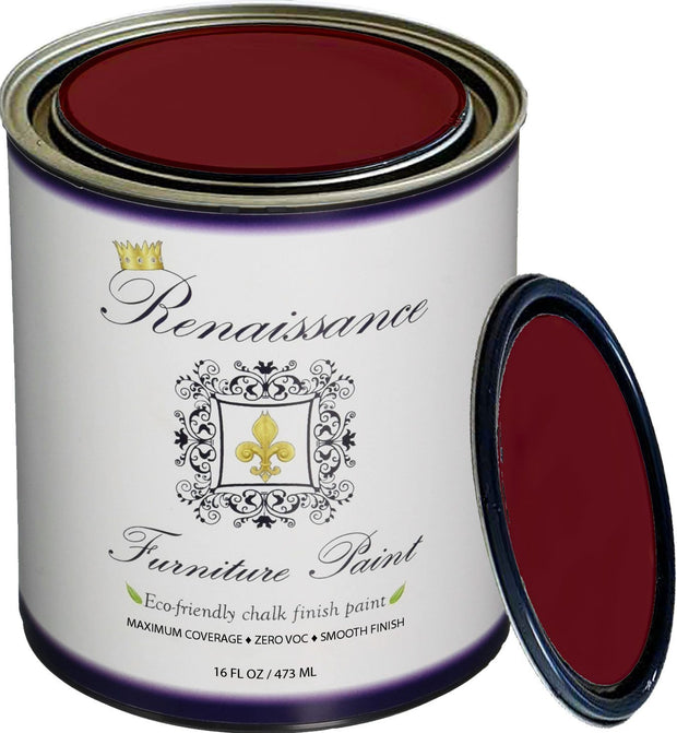 Renaissance Furniture Paint - Burgundy - Crystaline Your Life
