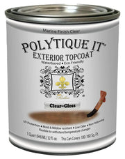 Polytique It Exterior Marine Top Coat - Crystaline Your Life