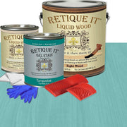 Liquid Wood Kit - Turquoise