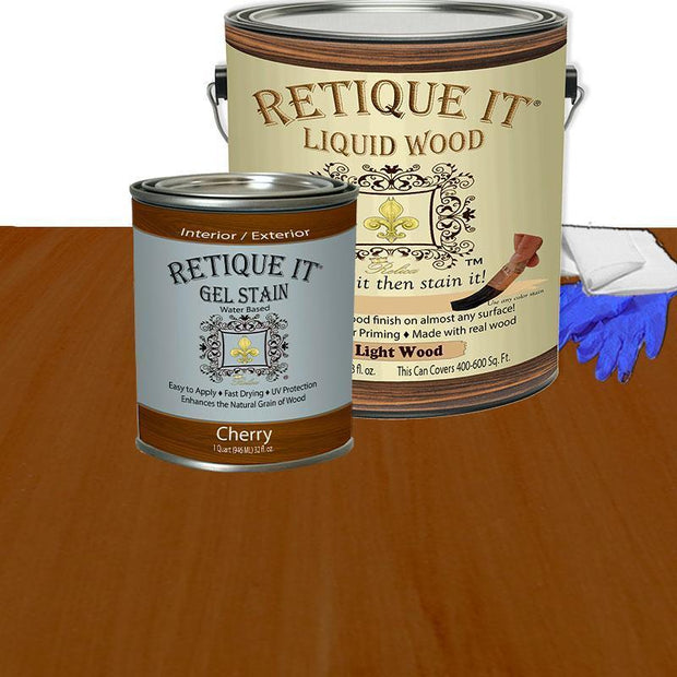 Liquid Wood Kit - Cherry - Crystaline Your Life