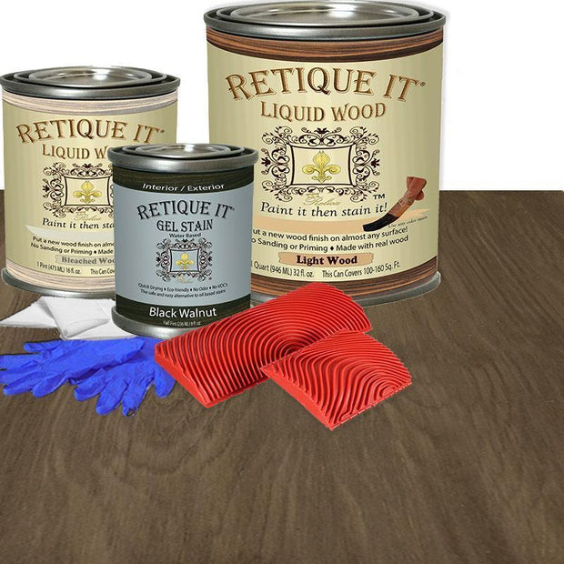 Liquid Wood Kit - Black Walnut - Crystaline Your Life