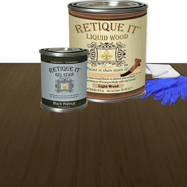 Liquid Wood Kit - Black Walnut