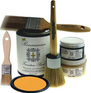 Renaissance Furniture Paint - Chalk Finish Paint - Marigold - Crystaline Your Life