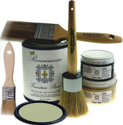 Renaissance Furniture Paint - Chalk Finish Paint - Terre Verte - Crystaline Your Life
