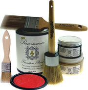 Renaissance Furniture Paint - Chalk Finish Paint - Vermilion - Crystaline Your Life