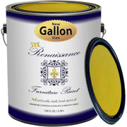 Renaissance Furniture Paint - Chalk Finish Paint - Lemon - Crystaline Your Life